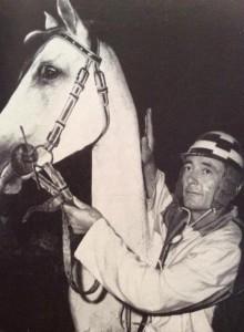 Ivan Magnani detto Il Terribile nel luglio 1959 con Briosa